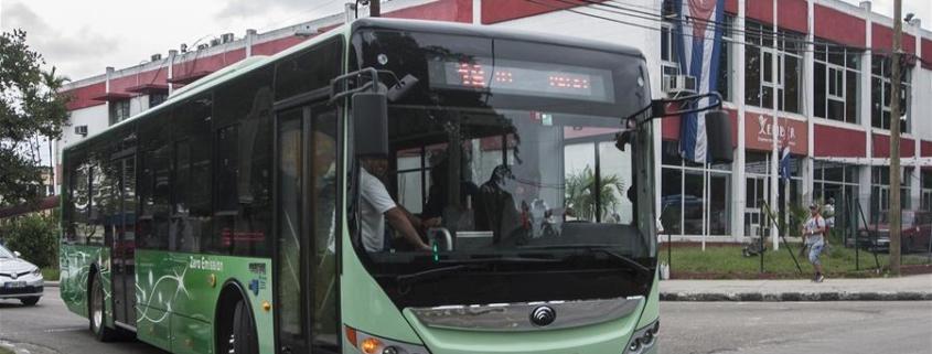 Cuba prevé la compra de un lote de guaguas híbridas y eléctricas en 2020