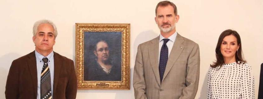 Spanish King and Queen Open Francisco de Goya Exhibition in Havana