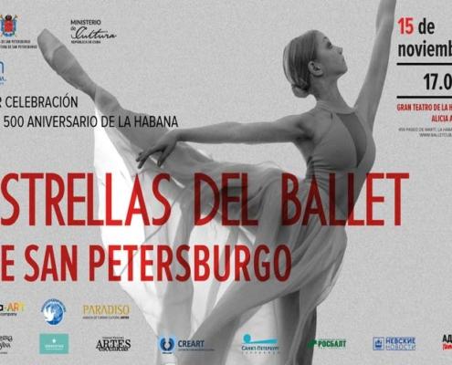 Ballet de San Petersburgo agasaja a La Habana
