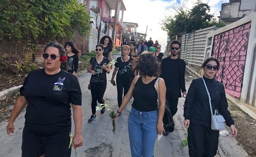 Havana animal lovers stage silent march over murdered dog