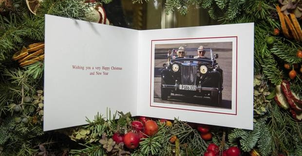 Charles and Camilla go topless for 2019 Christmas Card