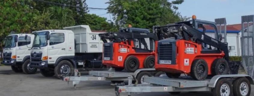 La Habana recibe nuevos equipos donados por Japón para la recogida de basura