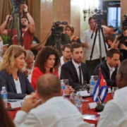 Cuba and EU address in Havana escalation of U.S. embargo