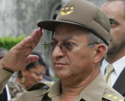 EE.UU. sanciona al ministro de las Fuerzas Armadas de Cuba, Leopoldo Cintra Frías
