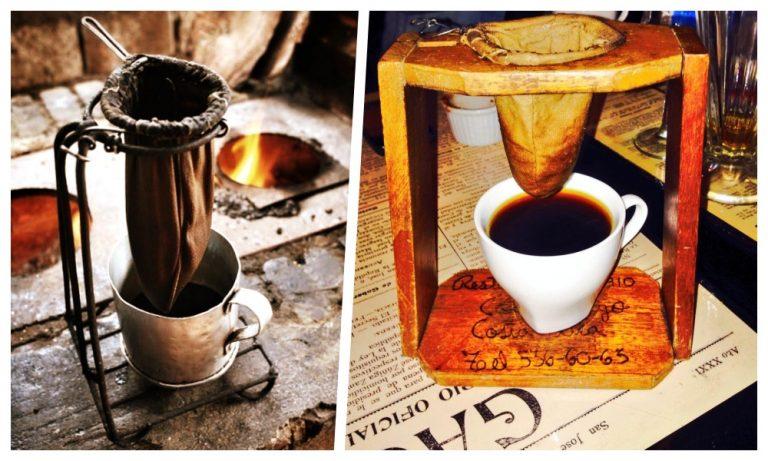 Did you already strain the coffee?