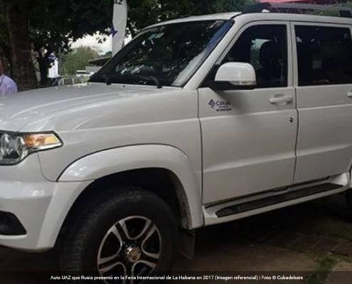 Fábrica rusa de automóviles cuadruplicará entrega de vehículos UAZ a Cuba en 2020