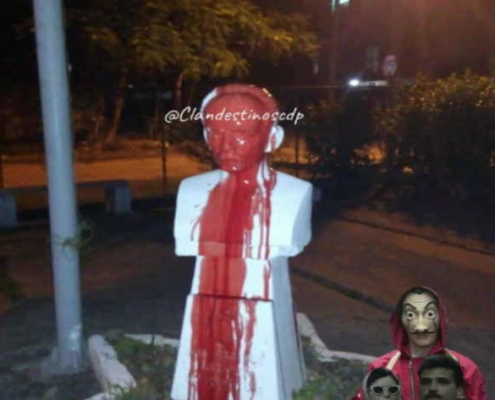 Individuals who desecrated busts of Jose Marti arrested in Havana