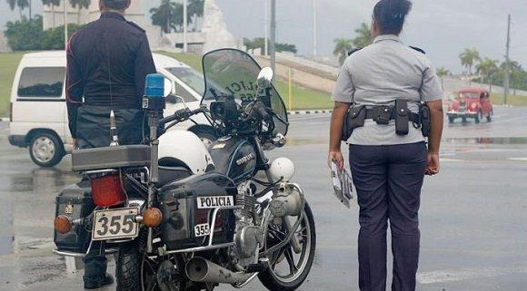 Nota informativa de la Comisión Provincial de Seguridad Vial de La Habana