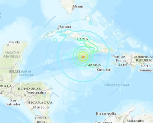 Une alerte au tsunami déclenchée après un puissant séisme de 7.7 entre Cuba et la Jamaïque