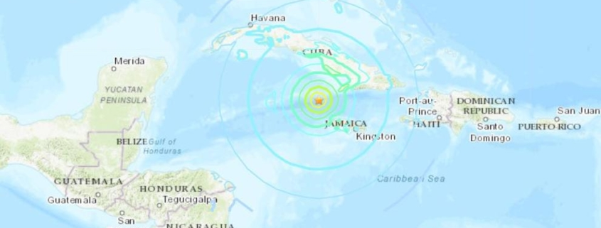 Earthquake triggers tsunami warning for Cuba, Jamaica and Caymans
