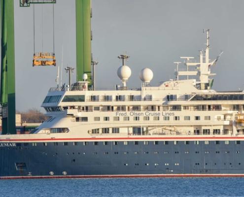 Inicia viaje desde La Habana primer vuelo con pasajeros del MS Braemar