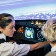 Dos tripulaciones integradas por mujeres aterrizaron sus aviones en La Habana