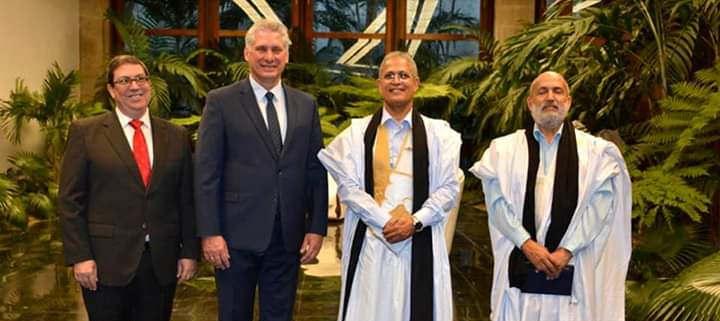 Le nouvel ambassadeur auprès de Cuba reçu par le président Miguel Diaz