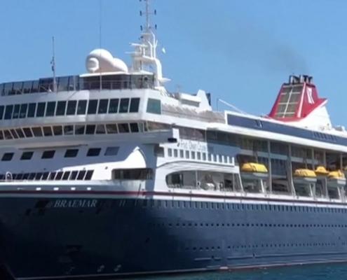 Un bateau de croisière britannique avec des voyageurs malades de Covid-19 reçu à Cuba