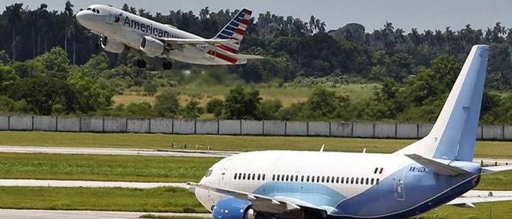 Suspendidos desde hoy vuelos de EE.UU. a Cuba, excepto a La Habana