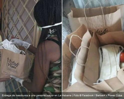 Negocio privado en La Habana ayuda a personas necesitadas y vulnerables al coronavirus