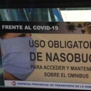 En La Habana exigen uso de nasobuco para desplazarse en ómnibus