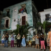 Cuba hits out at 'cruel' US sanctions during virus pandemic