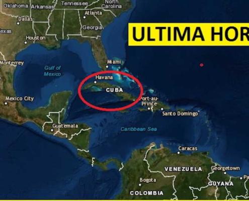 Simo de magnitud de 6.0 que fue perceptible en varias zonas de la Isla
