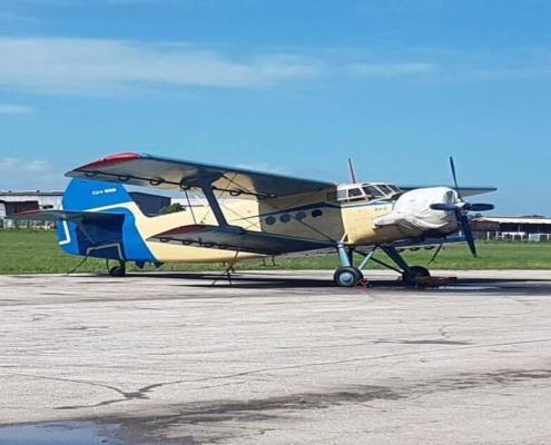 Avión ruso Antonow-2 se ensambla en Cuba