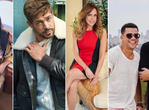 Who are the cuban artists most followed on Instagram?