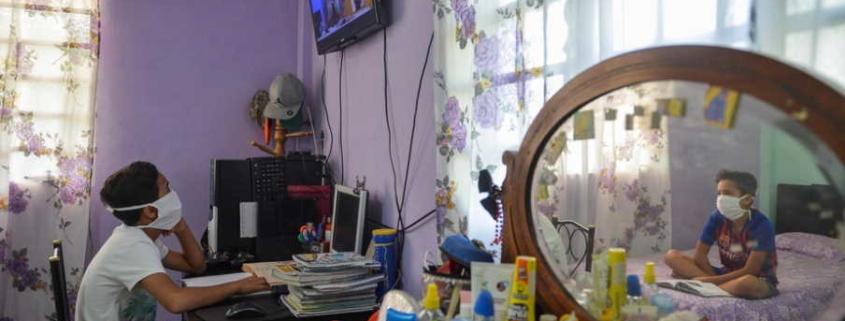 La télévision cubaine devient salle de classe en temps de pandémie