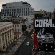 'Corona town': Cuban graffiti depicts anguish, urges courage
