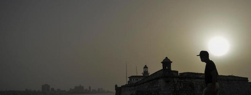 Sahara dust cloud hits Havana