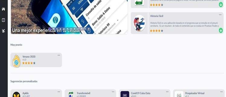 ¿Cuáles son las aplicaciones más usadas durante la Covid19 en Cuba?