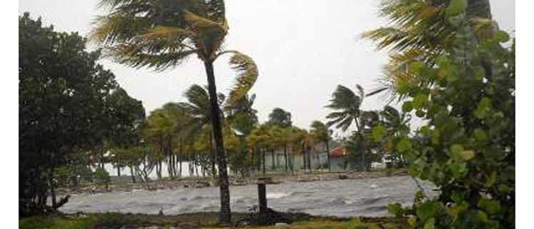 Registran en Cuba vientos fuertes a causa de tormenta tropical Isaías
