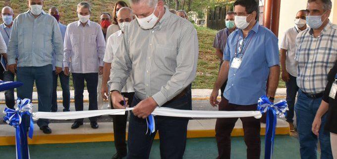 Cuba inaugurates plant to produce drug against COVID-19