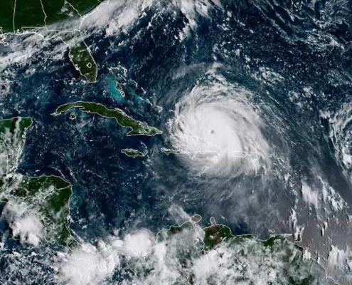 Août et septembre entre les cyclones
