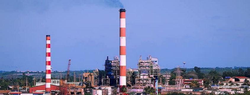 Cuban burn more local crude in power plants
