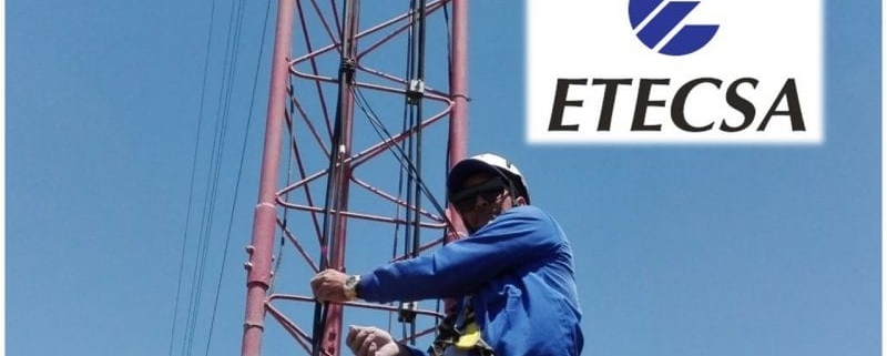 'Se encuentra afectada la navegación por 4G', informa ETECSA
