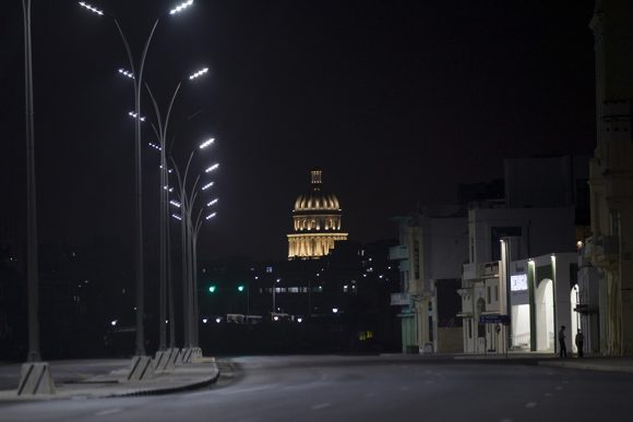Havana is picked up on the first night of restrictions