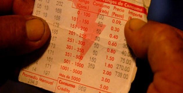 Obligatorio en La Habana pago de factura eléctrica a los 10 días de su notificación