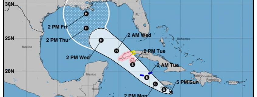 Se forma nueva tormenta tropical y amenaza occidente cubano