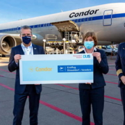 Condor jets off from Düsseldorf to Varadero