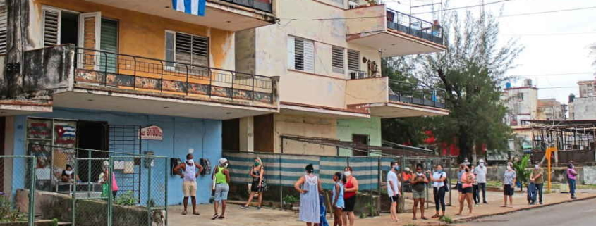 Facing severe shortages, Cubans team up on WhatsApp to swap and shop