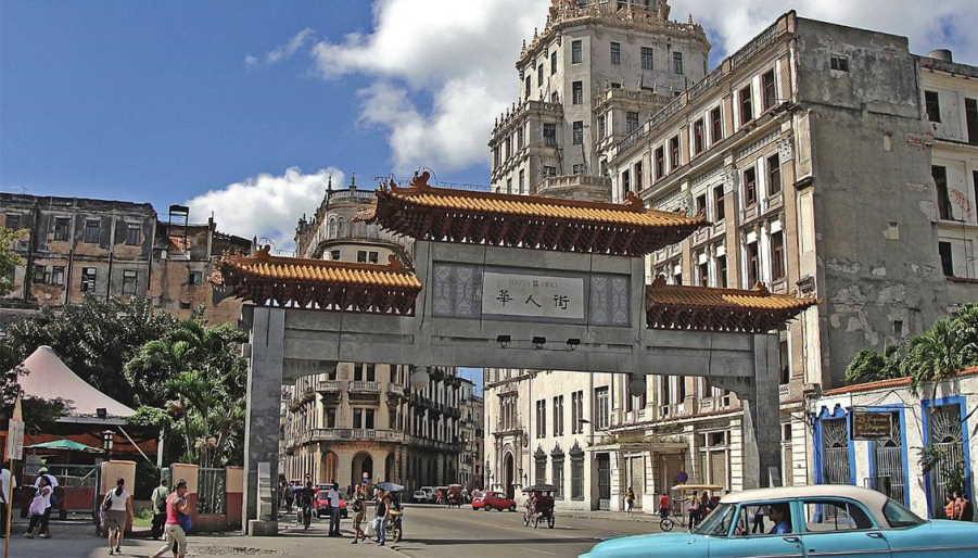 When the Chinese ran cinemas in Havana