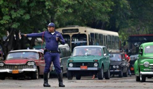 Regulaciones de tránsito con motivo de homenaje a Fidel Castro