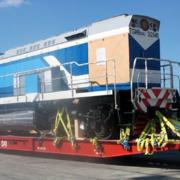 Llegan a Cuba siete nuevas locomotoras fabricadas en Rusia