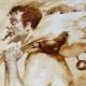 Identidad del cubano en obras creadas con café