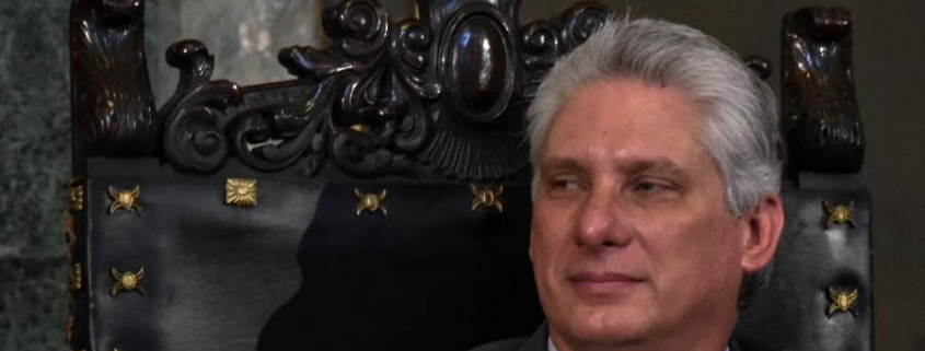 Cuban President Miguel Diaz-Canel says ready to talk with Biden