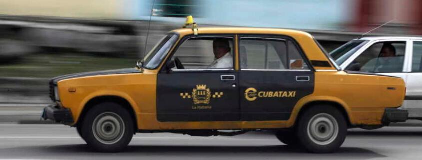 Bajan precios de taxis en Santiago de Cuba