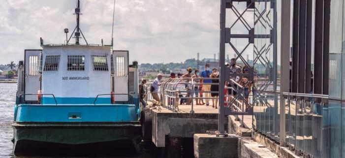 El servicio de transporte de pasajeros en lanchas en la bahía de La Habana se reinicia hoy