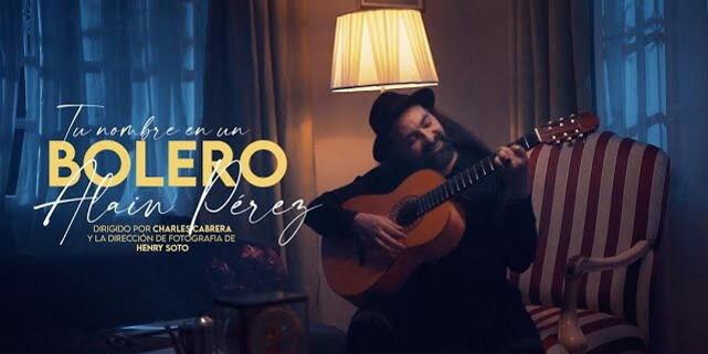 Alain Pérez dedica su nuevo videoclip a todos los enamorados