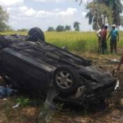 Teniente coronel cubano se accidenta en la Autopista Nacional