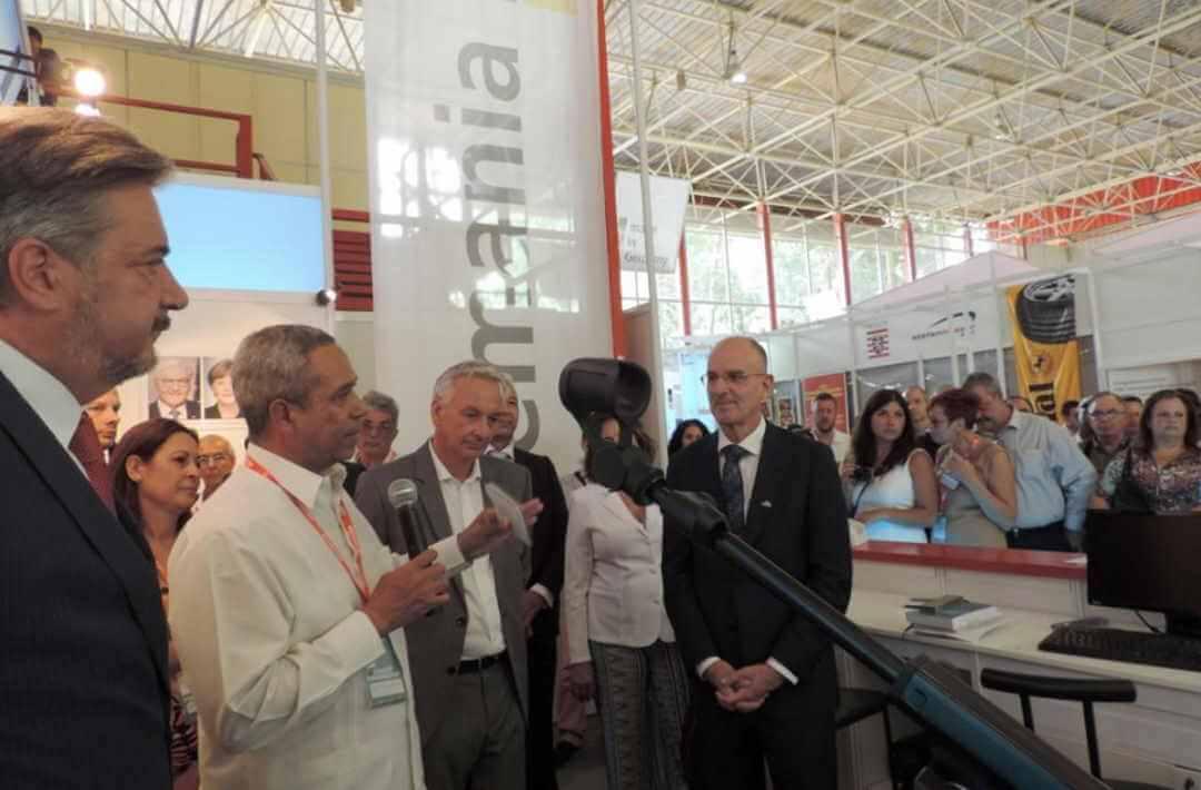 Cuba et l'Allemagne analysent la coopération biotechnologique et biopharmaceutique
