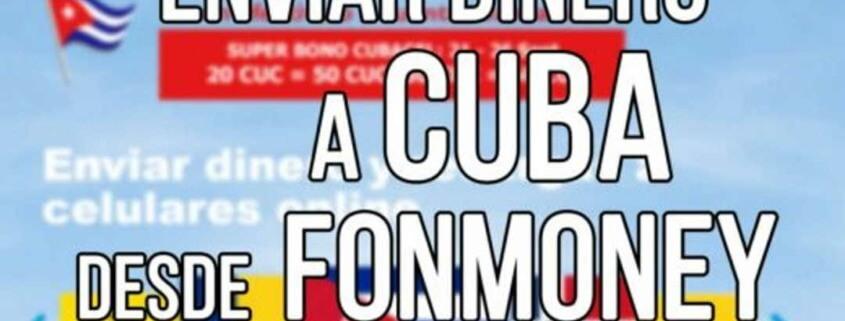 Fonmoney habilita el envío de remesas a Cuba por tarjetas de crédito